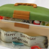 Fishing Tackle Box cake