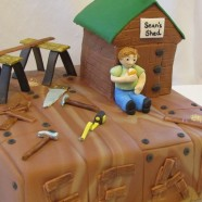 Handyman birthday cake