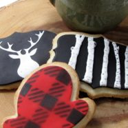 Muskoka themed shortbread cookies