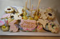 Easter cookie tray