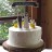 Muskoka rustic wedding cake