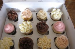 Cupcake flavour samples