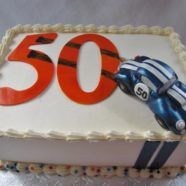 Cobra Race Car Cake