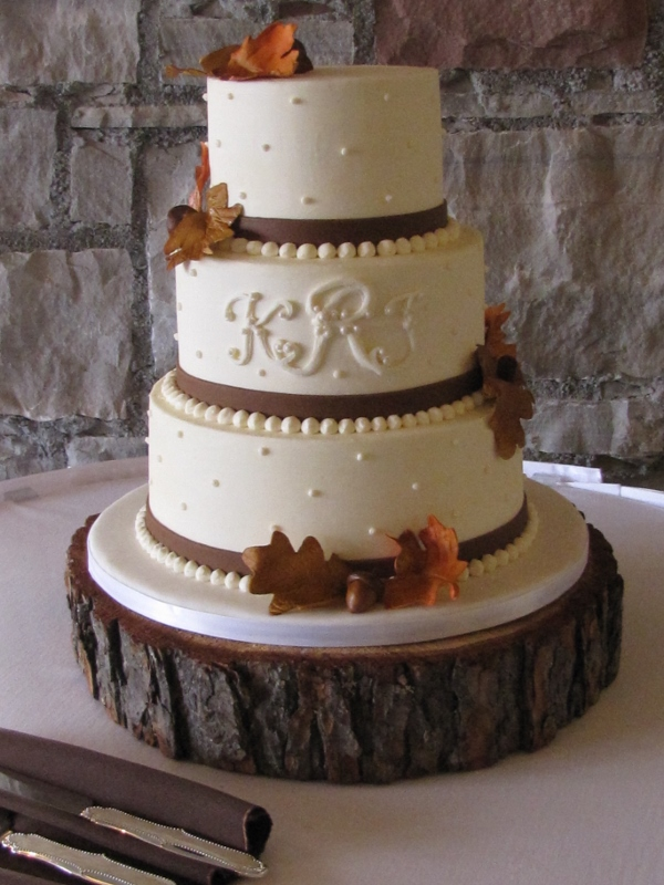 Fall leaves & buttercream