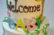 welcome to the jungle baby cake