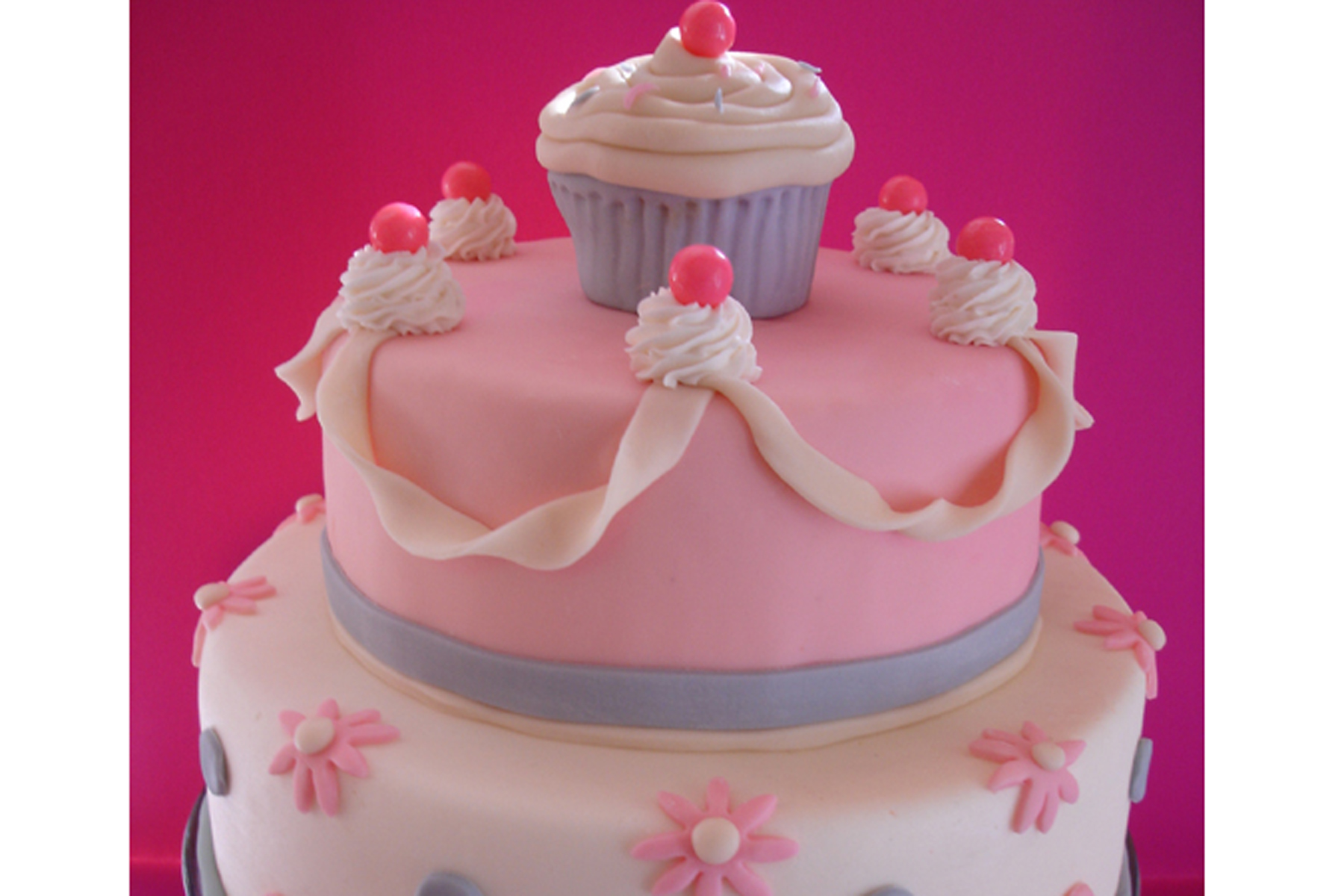 girly cake Cakewalk Catering